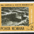 Excavated roman city — Stock Photo