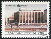 Budapest Atrium Hyatt Hotel — Stock Photo
