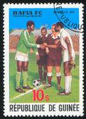 Equipo de fútbol — Foto de Stock