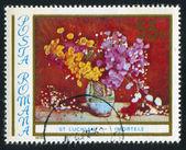 Vaas met bloemen — Stockfoto