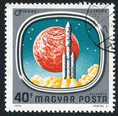 Mars-mission — Stockfoto