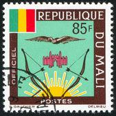 Mali-wappen — Stockfoto