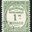 Stock Photo: Stamp Monaco