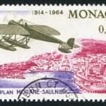 Monoplane — Stock Photo