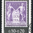 Stock Photo: Stamp printed by France