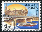 арпад мост в будапеште — Стоковое фото