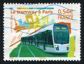 New Paris tramway — Stock Photo