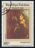 Jezdec na koni — Stock fotografie