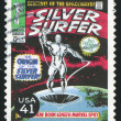 Stock Photo: Silver Surfer