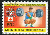 тяжелая атлетика — Стоковое фото