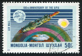 Space satellite — Stock Photo
