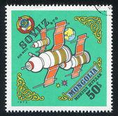 Ruimte satelliet — Stockfoto