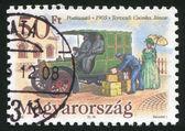 почтовый автомобиль — Стоковое фото