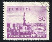 Gasoline refinery Batman — Stock Photo