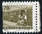Mail car — Stock Photo