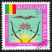Mali vapensköld — Stockfoto