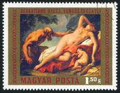 Vênus e sátiro — Foto Stock