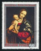 Vierge et l'enfant — Photo