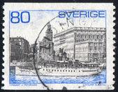 пароход storskar — Стоковое фото