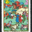 MONGOLIA - CIRCA 1981: stamp printed by Mongolia, shows Everyday Activity, circa 1981 — Stock Photo