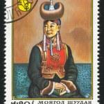 Mongolian Woman — Stock Photo #9641221
