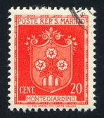Herb montegiardino — Zdjęcie stockowe