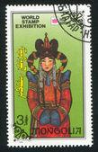 Mongolian woman — Stock Photo