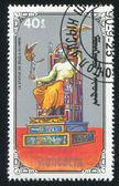 宙斯雕像 — 图库照片