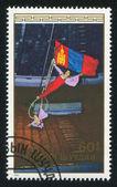 Two acrobats — Stock Photo