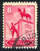 Ataturk standbeeld — Stockfoto