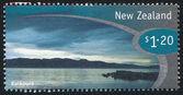 NEW ZEALAND - CIRCA 1998: stamp printed by New Zealand, shows Kaikoura, circa 1998 — Stock Photo