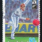Man plaing cricket — Stock Photo #9819700