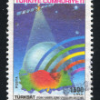 Turksat satellite — Stock Photo