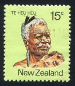 Maori Leader Te Heu Heu Tukino IV — Stock Photo