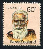 Capo maori te hakopa ata-o-tu — Foto Stock