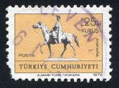 Ataturk of horse — Stock Photo