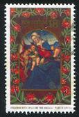 Vierge à l'enfant — Photo