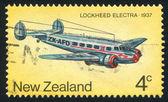 Lockheed Electra plane — Stock Photo