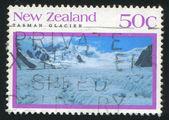 Tasman glacier — Stock Photo