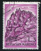 Titano berg — Stockfoto