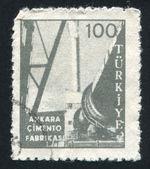 Usine de ciment d'ankara — Photo