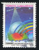 Turksat satellite — Stock Photo