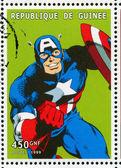 Captain America — Stock Photo