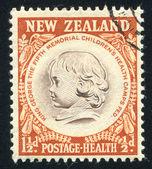New Zealand Child — Stock Photo