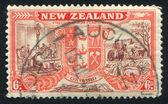 New Zealand Coat of Arms — Fotografia Stock