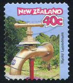 Mektup su musluk — Stok fotoğraf