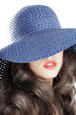 Blue hat — Stock Photo
