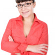 Woman with glasses — Stock Photo #9647242