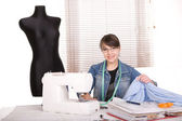 Clothes designer — Stock Photo