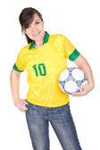 Football fan — Stok fotoğraf